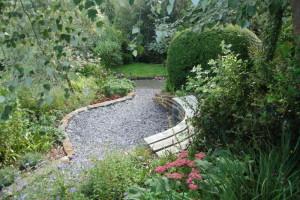 FSC Oak garden bench top