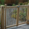 Oak and Hazel long lasting garden gates.