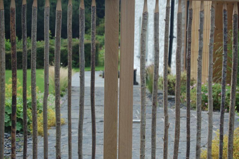 rustic FSC garden gates
