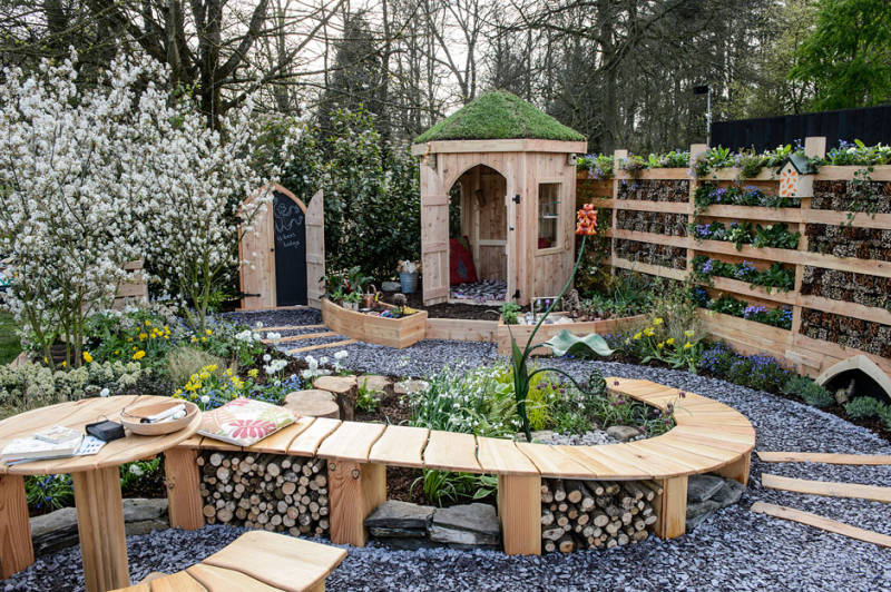 Garden Design Pembrokeshire RHS Cardiff 2015 Show Garden Made for Gardens : Nurture in Nature