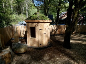Children's Den at The Centre for Alternative Energy