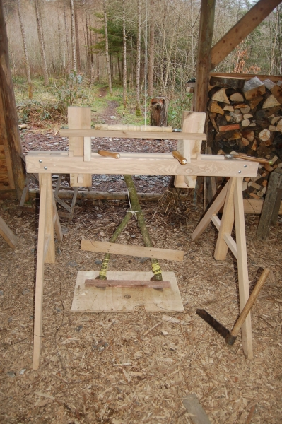 Portable Pole Lathe